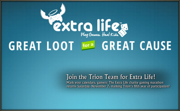 Extra Life 2015 Trion Welcome Window Feature Image