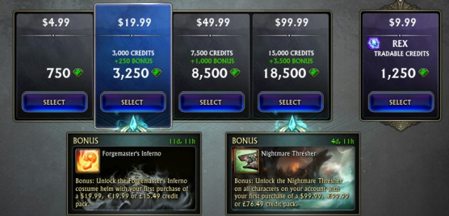 Forgemaster's Inferno Credit Promo