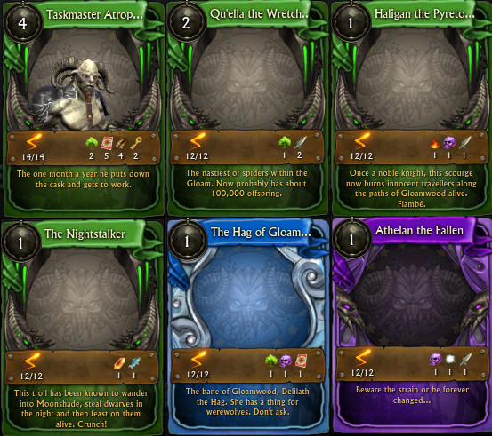 RIFT Autumn Harvest 2015 Minion Cards Updated