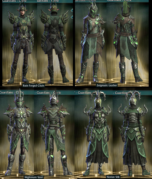 RIFT Mind of Madness Armor Wardrobe PTS