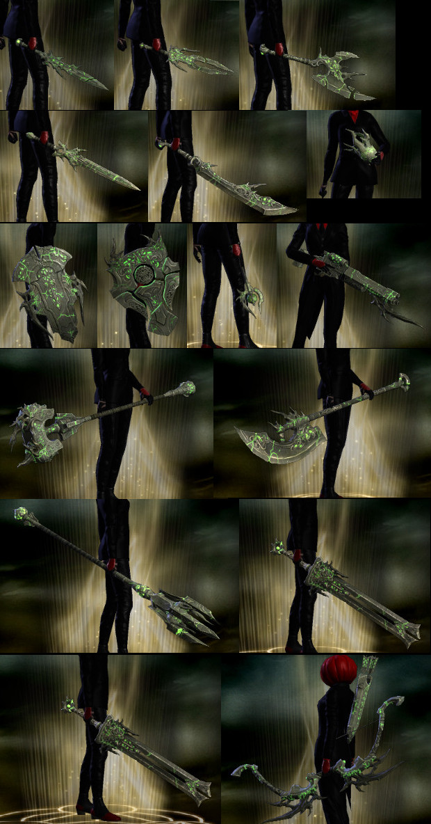 RIFT Mind of Madness Weapon Skins PTS