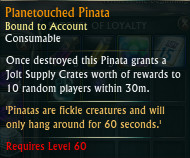 RIFT Planetouched Pinata