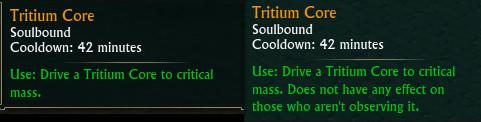 Tritium Core