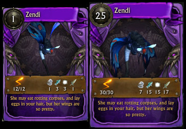 Zendi Minion Card PTS