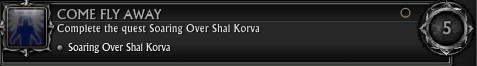 Come Fly Away Shal Korva Achievement
