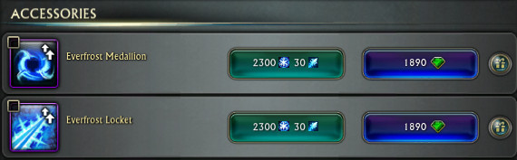 PTS Updat 19th Nov 3.5 Fae Yule Level 65 Necklace Store