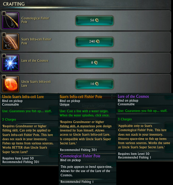 RIFT Affinity Fishing Poles and Lures PTS