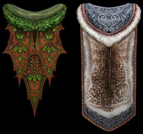 RIFT Fae Yule 2015 Capes Skins