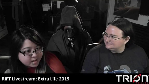Trion RIFT Extra Life 2015 Corgi Run Livestreamers