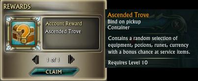 RIFT Ascended Trove