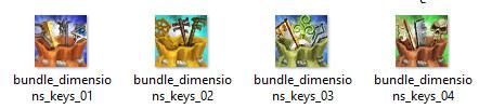 RIFT Bundle of Dimension Keys