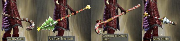 RIFT Fae Yule Misc Weapon Skins