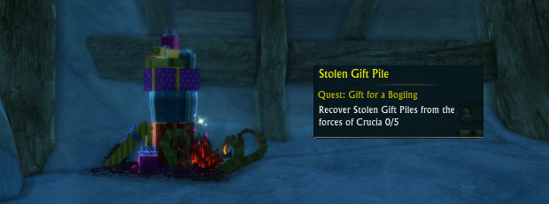RIFT Fae Yule Quests Gift for a Bogling 2