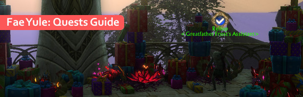 RIFT Fae Yule Quests Guide Feature Image
