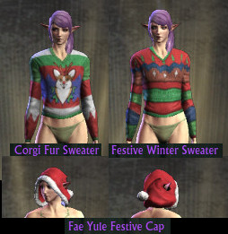 RIFT Fae Yule Sweater Festive Cap