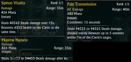 RIFT PTS 14th Dec 2015 Cleric Defiler DPS Buffs