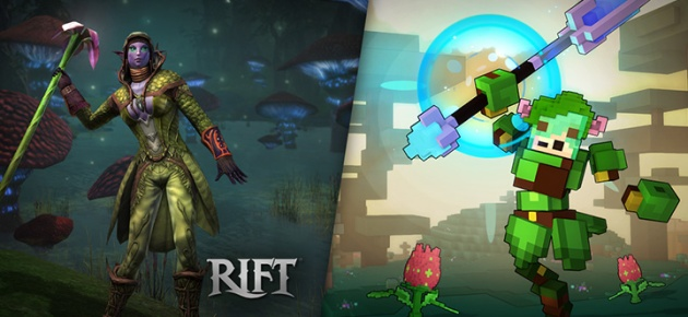 Trove Chloromancer Class Cross-Promo with RIFT