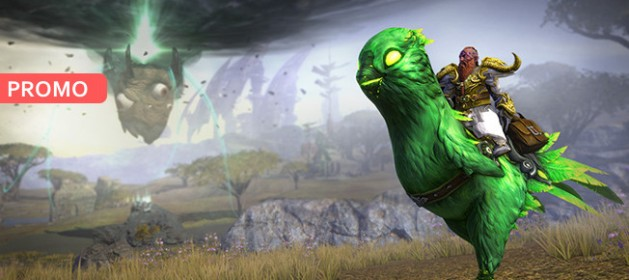 RIFT Budgie Madness Spooky the Nightmare Budgie Mount Feature Image