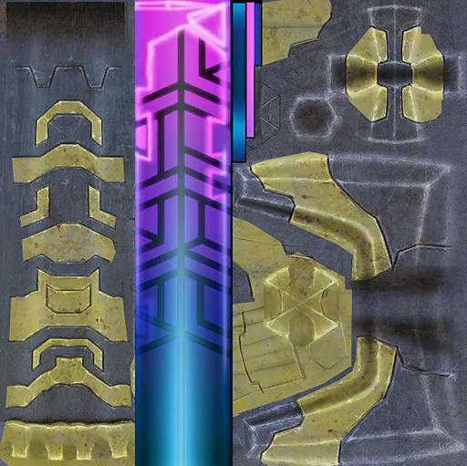 RIFT Possible 1h Reactor Sword Skin